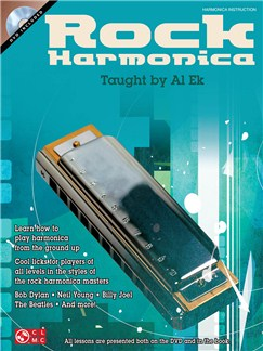 Al Ek: Rock Harmonica Books and DVDs / Videos | Harmonica