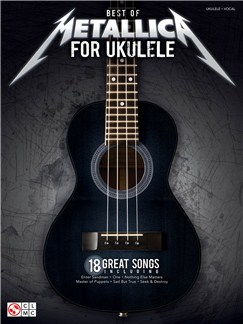 Best Of Metallica For Ukulele Books | Ukulele