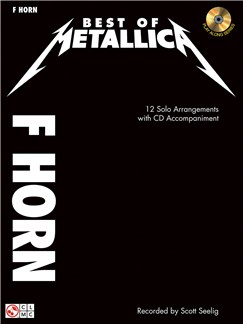 Metallica: Best Of - F Horn Books and CDs | French Horn