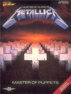 Metallica - Master of Puppets Books | Guitar Tab