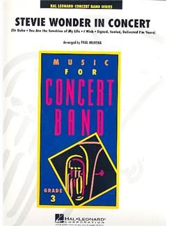 Stevie Wonder in Concert Books | Big Band & Concert Band