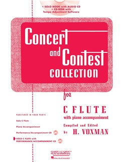 Concert And Contest Collection For C Flute (Book/CD) Books and CDs | Flute