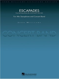 John Williams: Escapades (From Catch Me If You Can) (Stephen Bulla) Books | Big Band & Concert Band