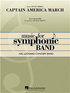Alan Silvestri: Captain America March (Concert Band) Bog | Big Band og Harmoniorkester