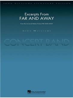 John Williams: Excerpts From Far And Away (Arr. Paul Lavender) Books | Big Band & Concert Band