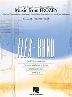 Music from Frozen - FlexBand Bog | Big Band og Harmoniorkester