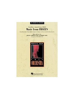 Music From Frozen (Full Orchestra) (Score/Parts/Online Audio) Books and Digital Audio | Orchestra