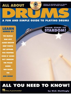 All About Drums Books and CDs | Drums