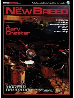 Gary Chester: The New Breed (Book/Online Audio) Books and Digital Audio | Drums
