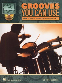 Scott Schroedl: Grooves You Can Use Books and CDs | Drums