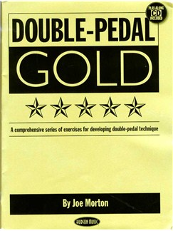Joe Morton: Double Pedal Gold Books and CDs | Drums