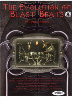 Derek Roddy: The Evolution Of Blast Beats (Book And CD) Books and CDs | Drums