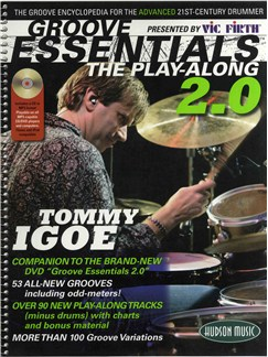 Tommy Igoe: Groove Essentials - The Play-Along 2.0 Books and CDs | Drums