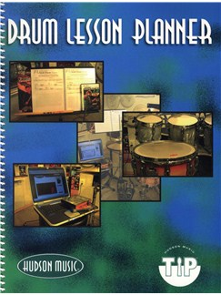 Hudson Music: Drum Lesson Planner Books | Drums