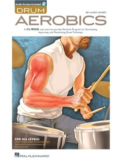 Andy Ziker: Drum Aerobics (Book/Online Audio) Books and Digital Audio | Drums