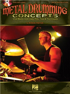 Andols Herrick: Metal Drumming Concepts DVDs / Videos y Libro | Batería