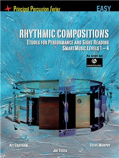 Rhythmic Compositions - Etudes For Performance And Sight Reading (Easy) Books | Drums