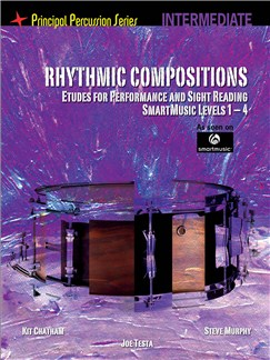 Rhythmic Compositions - Etudes For Performance And Sight Reading (Intermediate) Books | Drums