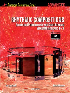Rhythmic Compositions - Etudes For Performance And Sight Reading (Advanced) Books | Drums