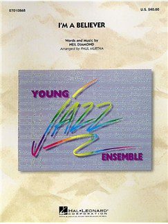 Young Jazz Ensemble: I'm a Believer Libro | Jazz Band