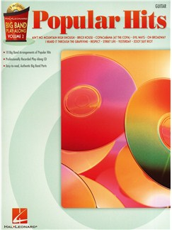 Big Band Play-Along Volume 2: Popular Hits - Guitar Books and CDs | Guitar