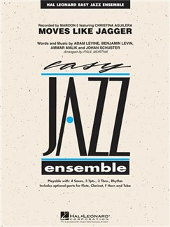 Easy Jazz Ensemble Series: Moves Like Jagger Bog | Jazz Band