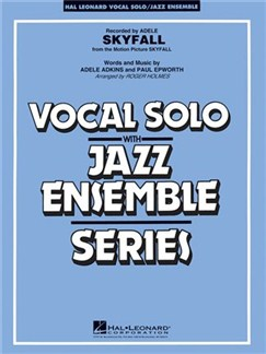Vocal Solo/Jazz Ensemble Series: Skyfall (Key: C Minor) Books | Piano & Vocal, Wind Ensemble, Drums, Bass Guitar, Guitar