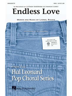 Lionel Richie/Diana Ross: Endless Love - SSA Books | SSA, Piano Accompaniment