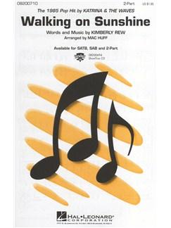 Katrina & The Waves: Walking on Sunshine Books | 2-Part Choir