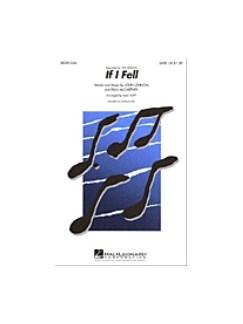 The Beatles: If I Fell (Arr. Mac Huff) Books | SSA