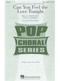Elton John: Can You Feel The Love Tonight (Arr. Huff) - TTBB Books | TTBB