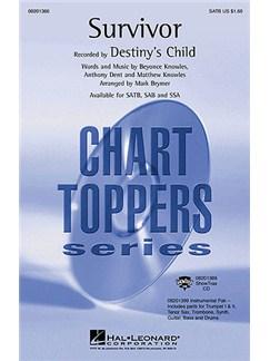 Destiny's Child: Survivor (SATB) Books | SATB, Piano Accompaniment