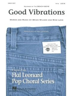 The Beach Boys: Good Vibrations (SATB) Books | SATB, Piano Accompaniment