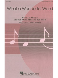 What A Wonderful World (SSAA) Livre | SSAA