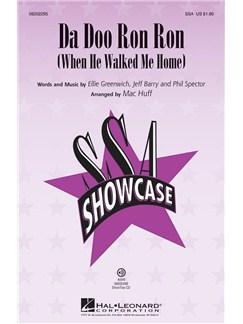 The Crystals: Da Doo Ron Ron (When He Walked Me Home) - SSA Books   SSA, Piano Accompaniment