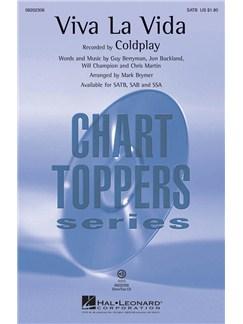 Coldplay: Viva La Vida (SATB) Books | SATB