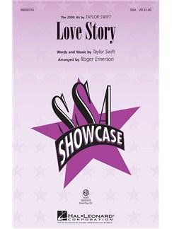 Taylor Swift: Love Story (SSA) Books | SSA