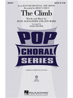 Miley Cyrus: The Climb (SATB) Books | SATB