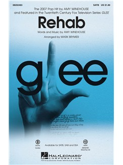 Amy Winehouse: Rehab (Glee) SATB Books | SATB