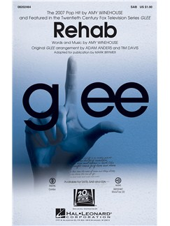 Amy Winehouse: Rehab (Glee) - SAB Books | SAB, Piano Accompaniment
