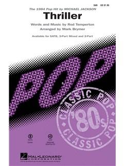 Michael Jackson: Thriller - SAB Livre | SAB, Accompagnement Piano