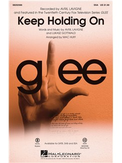 Avril Lavigne: Keep Holding On (Glee) - SSA Books | SSA