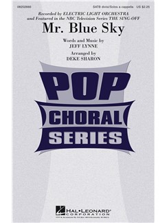 Electric Light Orchestra: Mr. Blue Sky (SATB) Books | SATB