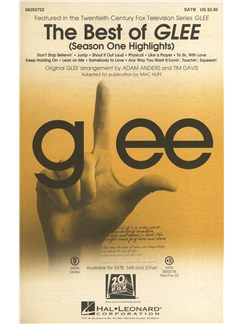 The Best Of Glee - Season One Highlights (SATB) Books | SATB, Piano Accompaniment