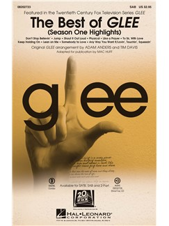 The Best Of Glee - Season One Highlights (SAB) Books | SAB, Piano Accompaniment
