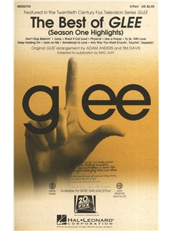 The Best Of Glee - Season One Highlights (2-Part Choir) Books | 2-Part Choir, Piano Accompaniment