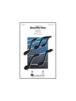 U2: Beautiful Day - As Performed By Lee DeWyze (SATB) Books | SATB
