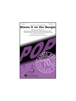 The Jacksons: Blame It On The Boogie (SAB) Books | SAB, Piano Accompaniment