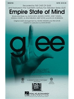 Empire State Of Mind (Brymer/Anders/Davis) Satb Choral Libro |