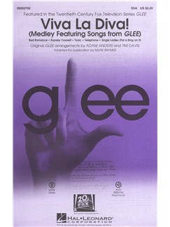 Glee Cast: Viva La Diva! (Medley Featuring Songs From Glee) Books | SSA, Piano Accompaniment